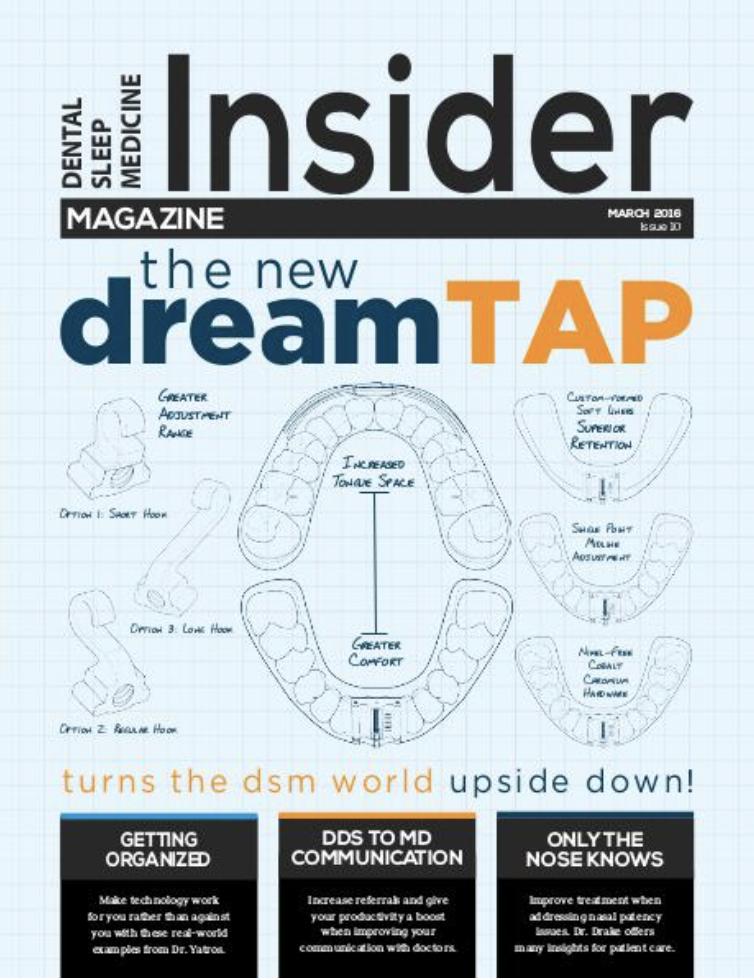March 2016 DSM Insider